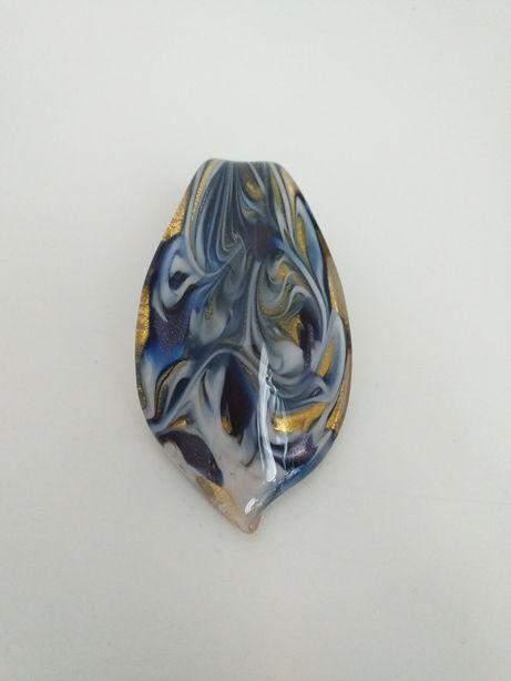 Oryginalny naszyjnik z Włoch, szkło weneckie