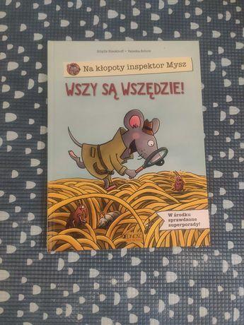 """Inspektor mysz na kłopoty """"Wszy są wszędzie"""" od wydawnictwa jedność"""