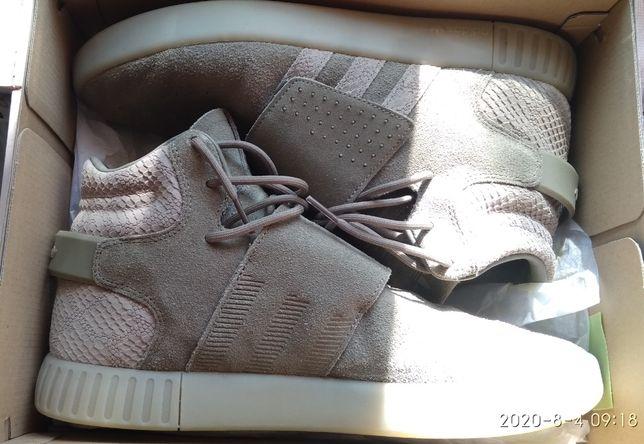 Кроссовки Adidas Originals Tubular Invader Strap олива/Оригинал/28см