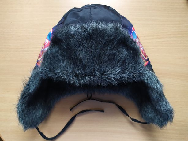 Зимняя шапка ушанка для мальчика, размер 56