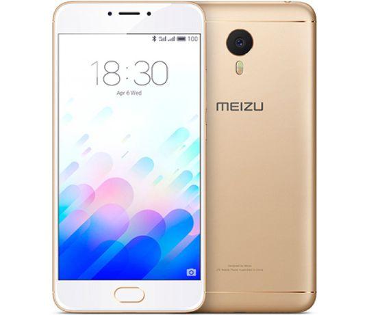 """Смартфон Meizu M5 Note 3/32GB 5.5"""" 13мп Gold Международная версия"""