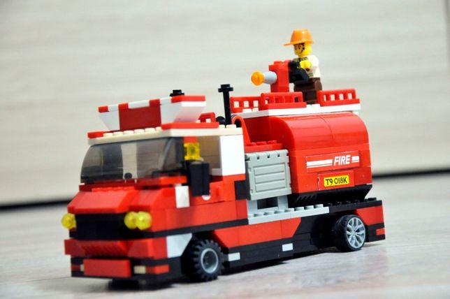Большая пожарная машина, аналог Lego