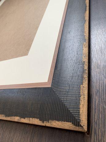 Рама для картины, картинная рама, деревянная рама  95 х 118см