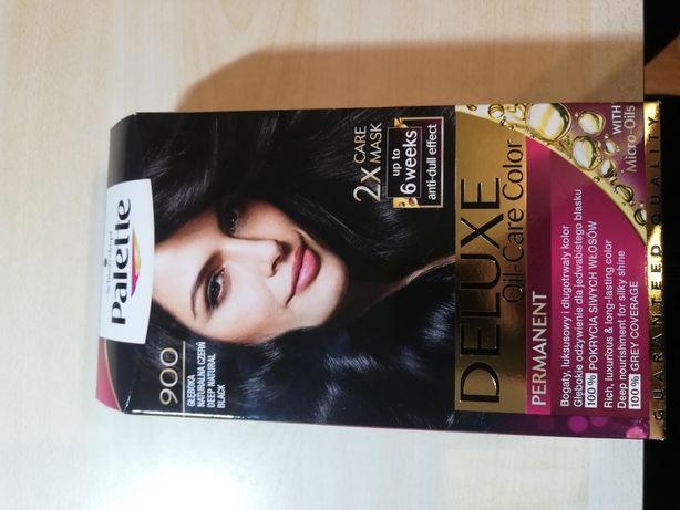 Farba do włosów palette 900- głęboka czerń