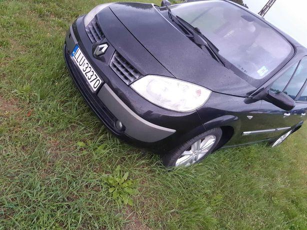 Renault grand megane scenic 7osob uszkodzony