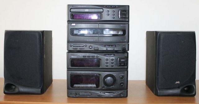 Wieża JVC, CA - S50RBK, MX - S50R, SP - S20BK, wysyłka