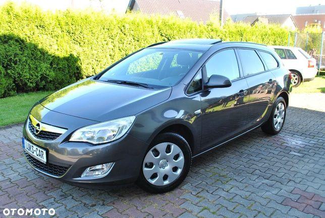 Opel Astra 1.4Turbo 140KM SZYBERDACH! Clima! Serwis! Super Stan!