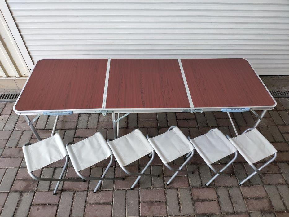 Большой 180 см стол для пикника Одесса - изображение 1