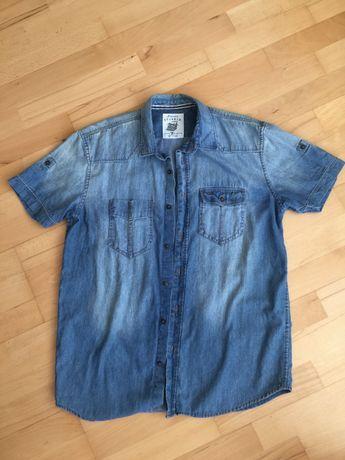 Сорочка мужская джинсовая TOM TEILOR, Оригинал, размер L, США