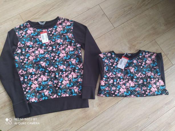 Nowe bluzy dla bliźniaczek 164 (s)