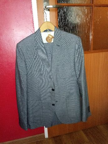Garnitur H&M marynarka + spodnie