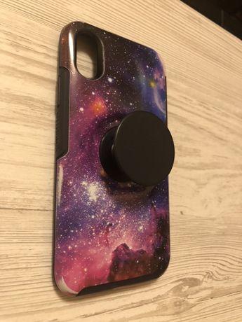 Чехол Otterbox звезды космос iPhone X