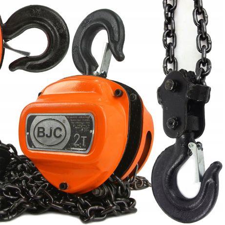 Wyciągarka wciągarka łańcuchowa 2T BJC