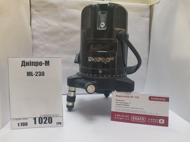 Лазерний уровень Дніпро-И  ML-230 в хорошем состоянии без дефектов