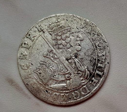 409) PRUSY KSIĄŻĘCE srebro - Ort - 1684 r.