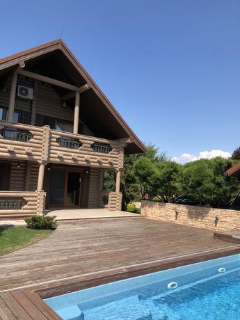 Дом в Конча - Заспа со своей территорией, Бассейном, Баней. Видео!