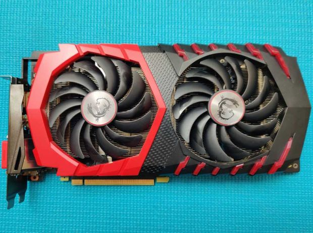 Mocna Karta Graficzna MSI GeForce GTX 1060 GAMING X 6GB GDDR5