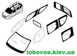 Заднее Боковое стекло Chevrolet Lacetti Orlando Tacuma Shatterprufe