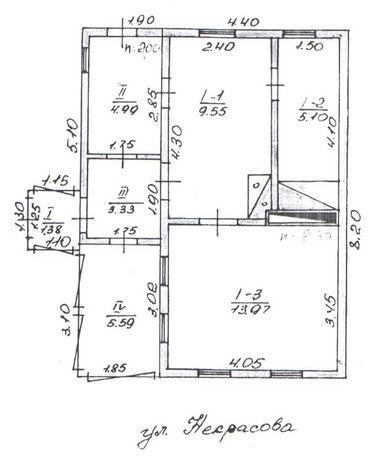 Продам недорого участок с домом в г. Новодружеск по ул. Некрасова
