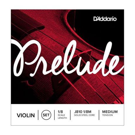 Struny do skrzypiec 1/8 D'Addario Prelude (J810 1/8)