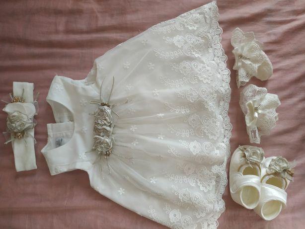 Платье для крещения, нарядное платье