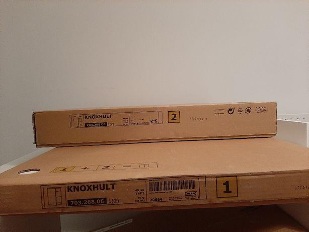 Nowa komoda KNOXHULT (IKEA) - meble kuchenne (biały połysk)