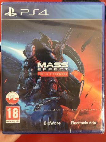 Mass Effect Edycja Legendarna PS4 / PS5 nowa zafoliowana Rybnik