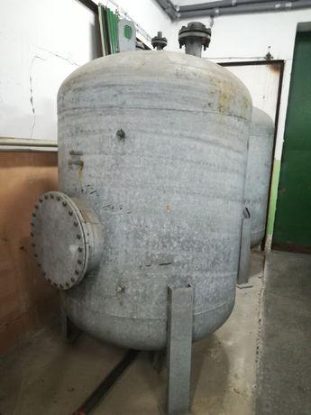 Stalowy zbiornik 3000l - olej opałowy / woda