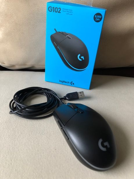 Mysz gaming Logitech G102 Prodigy jak NOWA