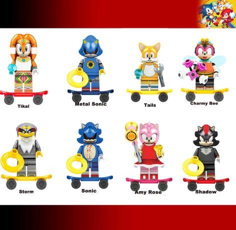 Bonecos / Minifiguras Sonic nº8 - compativeis com Lego