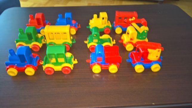 traktorki,samochodziki i wagoniki