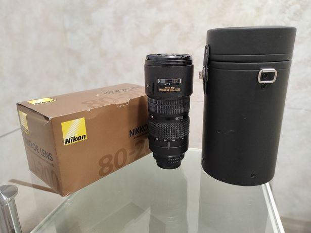 Nikon AF 80-200mm, f/2.8D ED