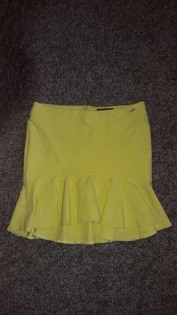 Spódnica neon limonka mohito roz 36