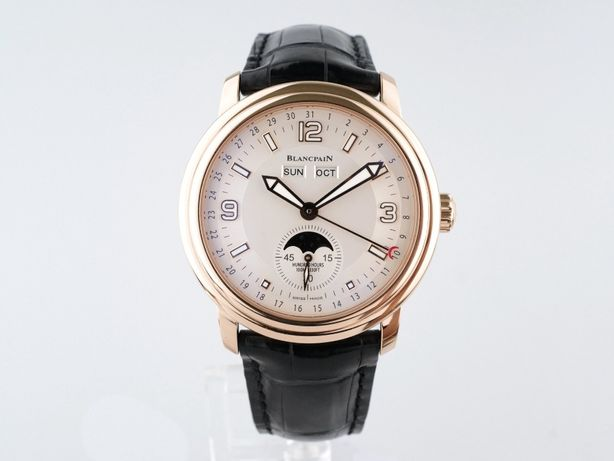 Мужские бу часы Blancpain Leman Moon Phase Complete Calendar 40 мм