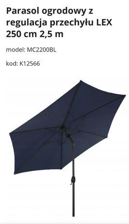 Parasol ogrodowy 2,5m średnicy