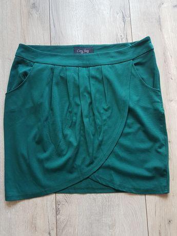 Spódnica koloru zielonego rozm. XL