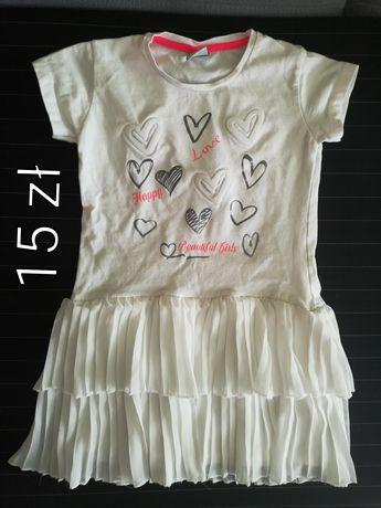 Sukienka/tunika r. 116