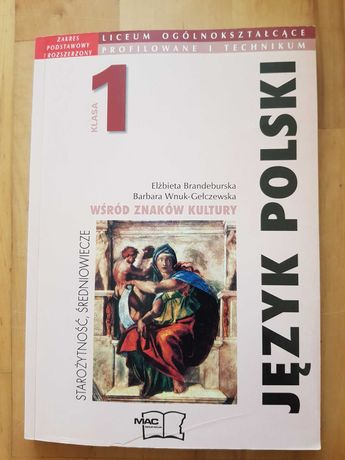 język polski klasa 1 liceum zakres podstawowy i rozszerzony podręcznik