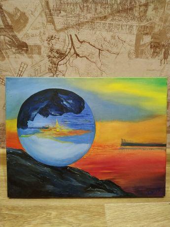 """Картина """"Восход солнца"""""""