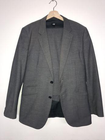 Fato completo H&M Blazer e Calças cinzento escuro