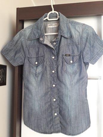 Koszula jeansowa LEE rozm. XS - stan bardzo dobry