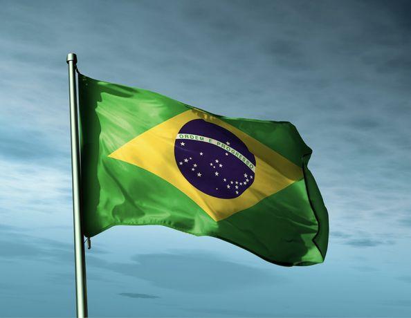 (Nova) Bandeira Brasileira 90x150 cm