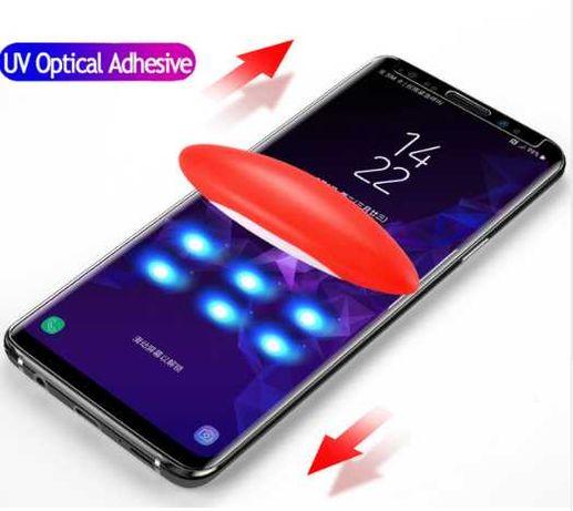 Защитное ультрафиолетовое UV стекло Samsung Note 8 Note 9 S8 S9 S7edge