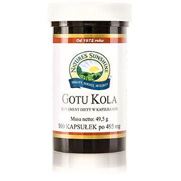 Gotu Kola - Najczystsza postać prosto z USA