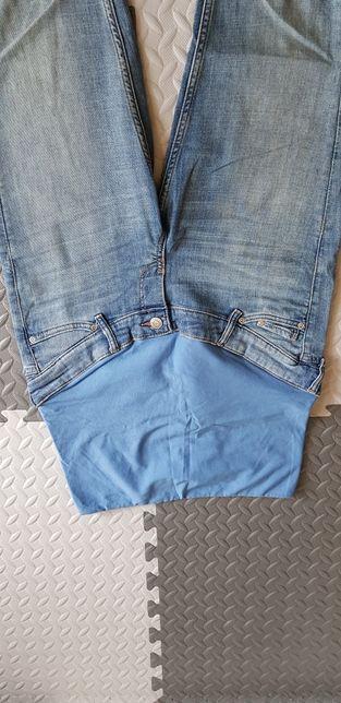 Jeansy ciążowe HM Mama r. 38
