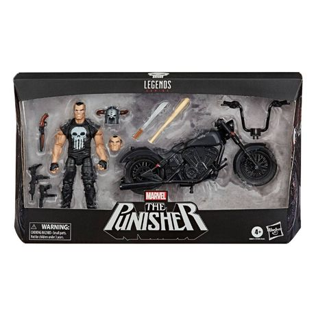 PUNISHER z motocyklem figurka 15 cm MARVEL LEGENDS