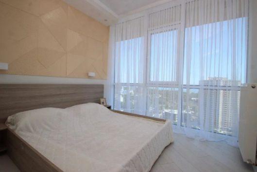 S Светлая 1-к квартира с панорамным видом на море в 26 36 42 Жемчужине