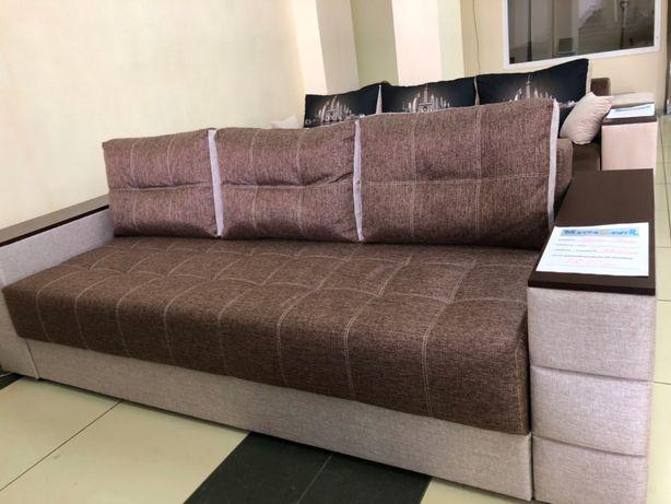 Новый диван еврокнига ОСКАР (ламель+пружина)