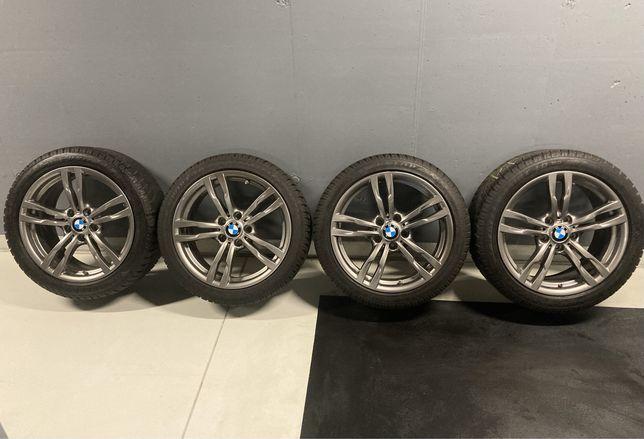 Felgi BMW F30 F31 M pakiet opony zimowe  225/45 i 255/40 - 18 cali