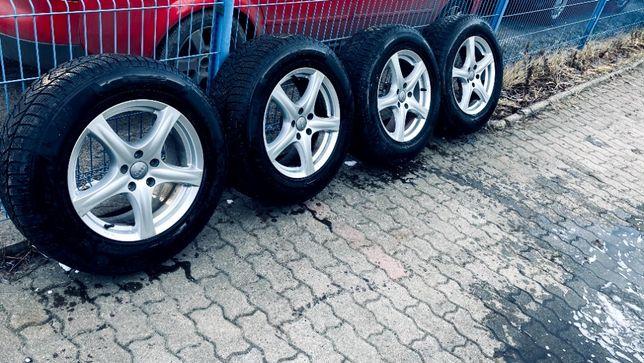 Alufelgi 17` Audi Q5 opony zimowe